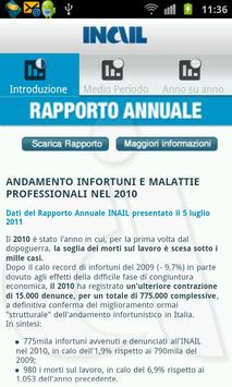 INAIL RA 2010 per smartphone poster