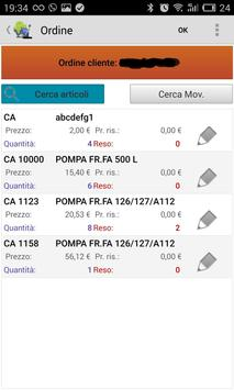WiNeMoMobile - presa ordine apk screenshot