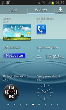 MyLocator apk screenshot