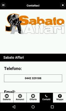 Sabato Affari apk screenshot