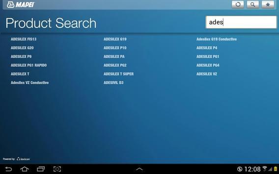 Mapei UK apk screenshot