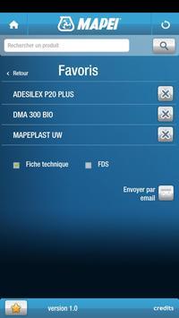 Mapei m. FR apk screenshot