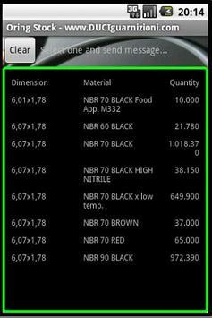 ORing Stock DUCI SRL apk screenshot