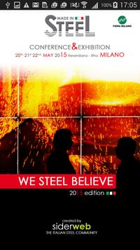 Made in Steel 2015 poster