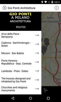 Gio Ponti in Milan apk screenshot