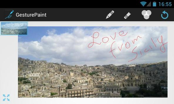 Gesture Paint LITE apk screenshot
