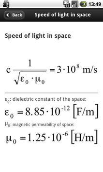 Radio Links Formulas apk screenshot