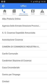 iCosenza apk screenshot