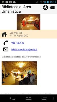 Biblio Unifg apk screenshot
