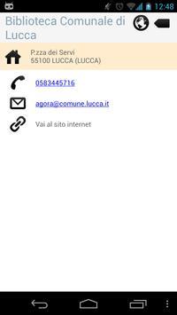 BiblioLucc@ apk screenshot