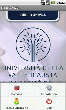 Biblio UniVdA apk screenshot