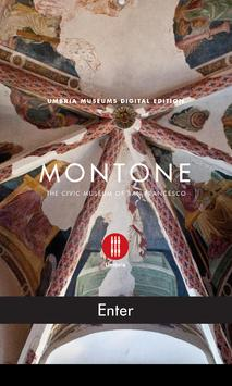 Montone - Umbria Museums poster