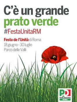 Festa de l'Unità di Roma 2015 poster