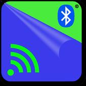 Bluetooth & WiFi file transfer icon