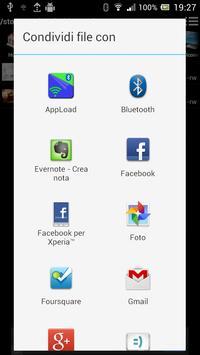 Bluetooth & WiFi file transfer apk screenshot