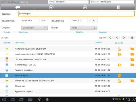Contact Pro Mobile CRM apk screenshot