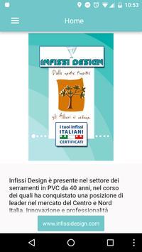 Infissi Design poster