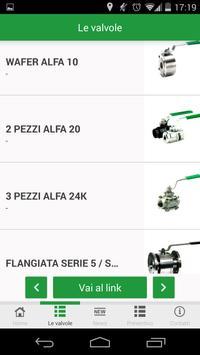 Alfa Valvole apk screenshot