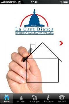 LA CASA BIANCA poster