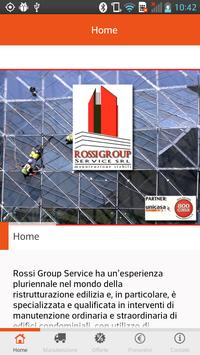 ROSSI GROUP SERVICE poster