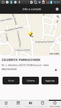 Celebrità Parrucchieri apk screenshot