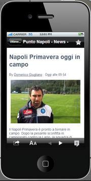 Punto Napoli poster