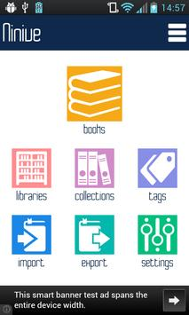 Ninive Library - my books isbn poster