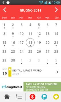 Calendario ecommerce 2015 apk screenshot