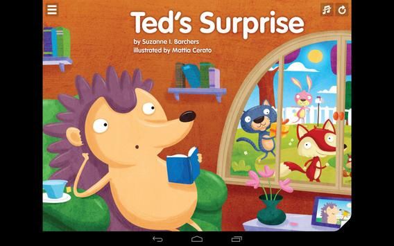 Ted's Surprise Red Chair Press apk screenshot