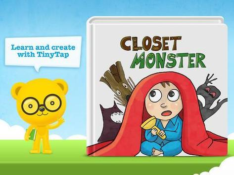 Closet Monster- Kids Storybook poster