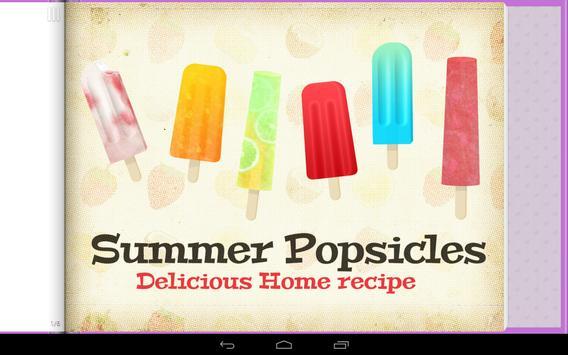 Frozen Summer Popsicles poster