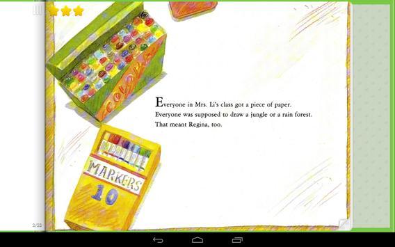 Regina's Big Mistake Storybook apk screenshot