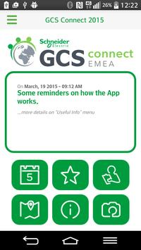 GCS Connect 2015 poster