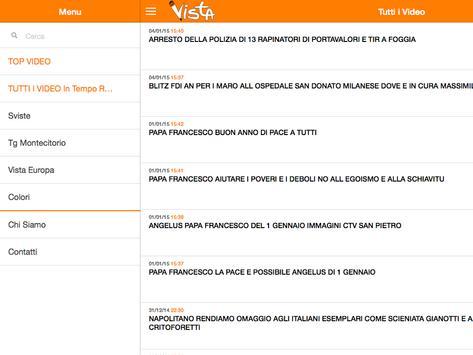Vista TV apk screenshot