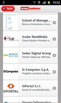 SMAU Bologna 2012 apk screenshot