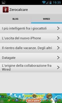 Zero Calcare apk screenshot