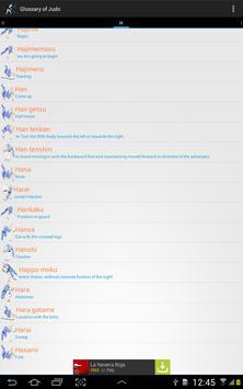 Glossary of Judo apk screenshot