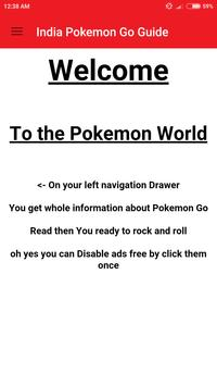 Guide for Pokémon Go India poster