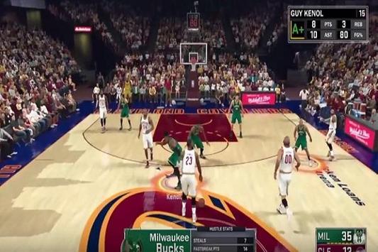 Triks NBA 2K17 apk screenshot