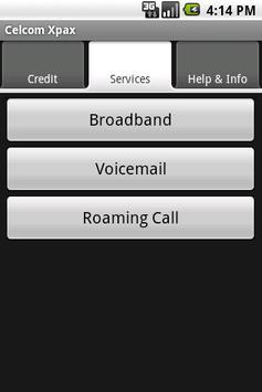 Celcom Xpax apk screenshot