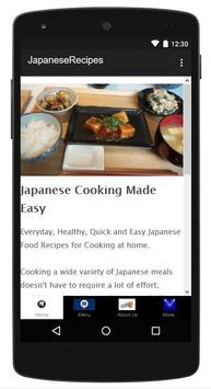 Japanese Healthy Recipes poster