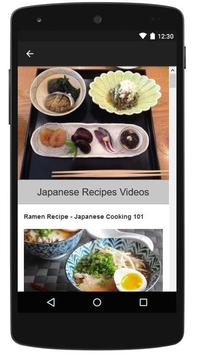 Japanese Healthy Recipes apk screenshot