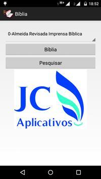 A Bíblia poster