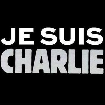 Je Suis Charlie (slogans) poster