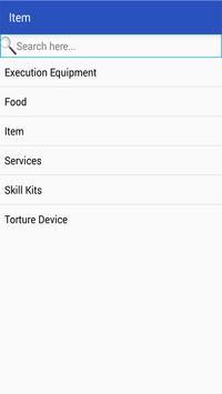 D20 Database apk screenshot