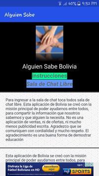 Alguien Sabe Bolivia poster