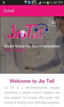 Jio Tell apk screenshot