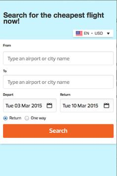 Cheap Flight Bookings apk screenshot
