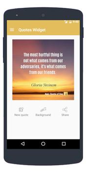 Quote of the Day (Widget) poster