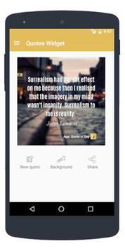 Quote of the Day (Widget) apk screenshot
